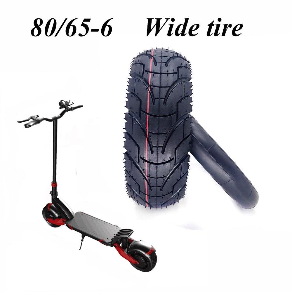 Neumático para patinete eléctrico plegable ZERO 10X Dualtron KUGOO M4, 80/65-6, 10 pulgadas, ancho, 10x3,0