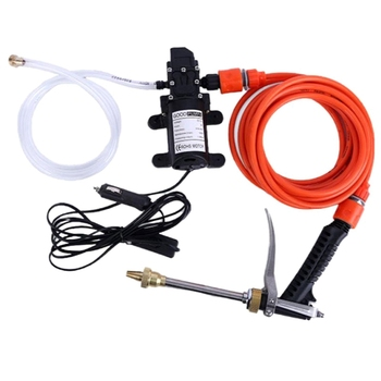 Car Wash 12V Car Washer Gun Pump High Pressure Cleaner Car Care Portable Washing Machine Electric Cleaning Auto Device household 220v portable 280 high pressure cleaner high pressure washing machine car wash device car wash pump car wash