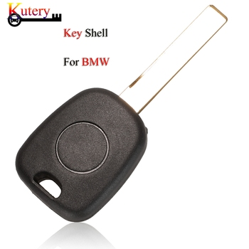 Kutery Remote Car Key Shell For BMW 3 5 6 series X3 X5 Z4 Z8 E36 E34 E38 E39 With HU92 Blade Replacement Key Fob Case image