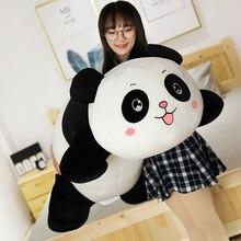 New 1PC 35/55/80CM Panda Plush Toys Cute Baby Big Giant Panda Plush Stuffed Animal Doll Animals Toy Pillow Girls Christmas Gifts стоимость