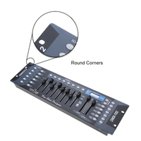 DMX512 Light Controller 192 Channels Show Designer Console For Stage Light DJ Party Stylish Disco Equipment
