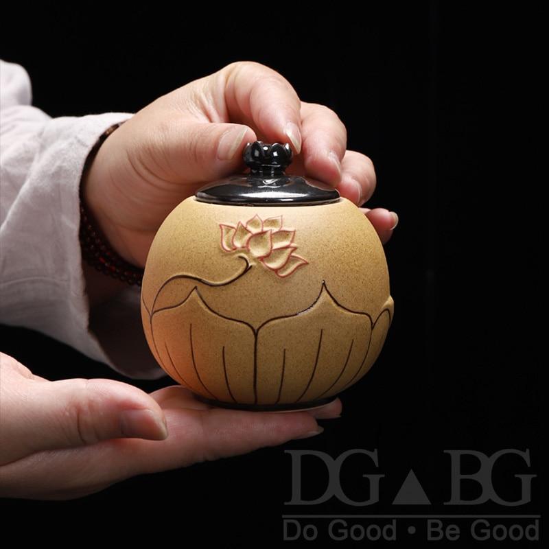 Urns For Ceramics Ashes Black Ash Urn Sealed Cremation Funeral  Keepsake Human Pet Memorial Suitable Home Fireplaces Burial