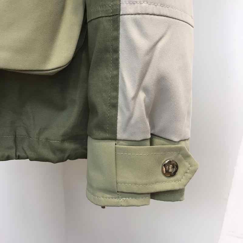 Wenig zu kurz unten jacke weibliche han-ausgabe lose schwere haar mode park werkzeug ins2019 neue heiße stil