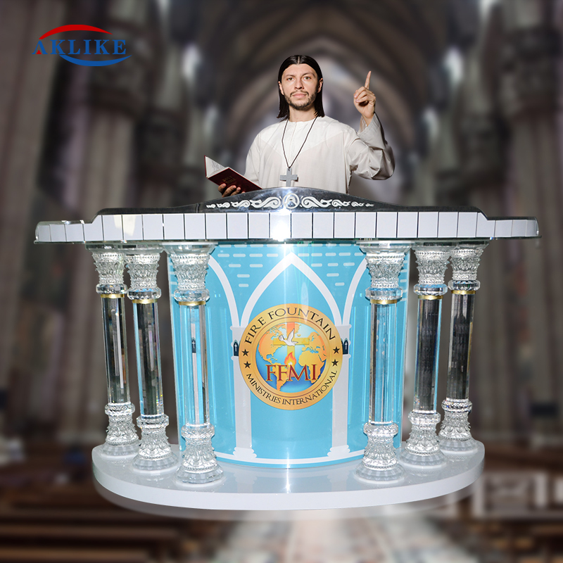 Digital Podium Theater Church Furniture Stands For Churches With Aklike Shelf Workshop Series Acrylic Podiums To Speech