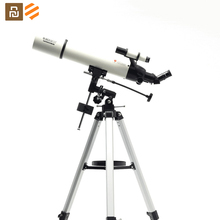 Youpin BEEBEST 천문 망원경 XA90 전문 야외 HD 굴절 줌 망원경 Finderscope Monocular For Space