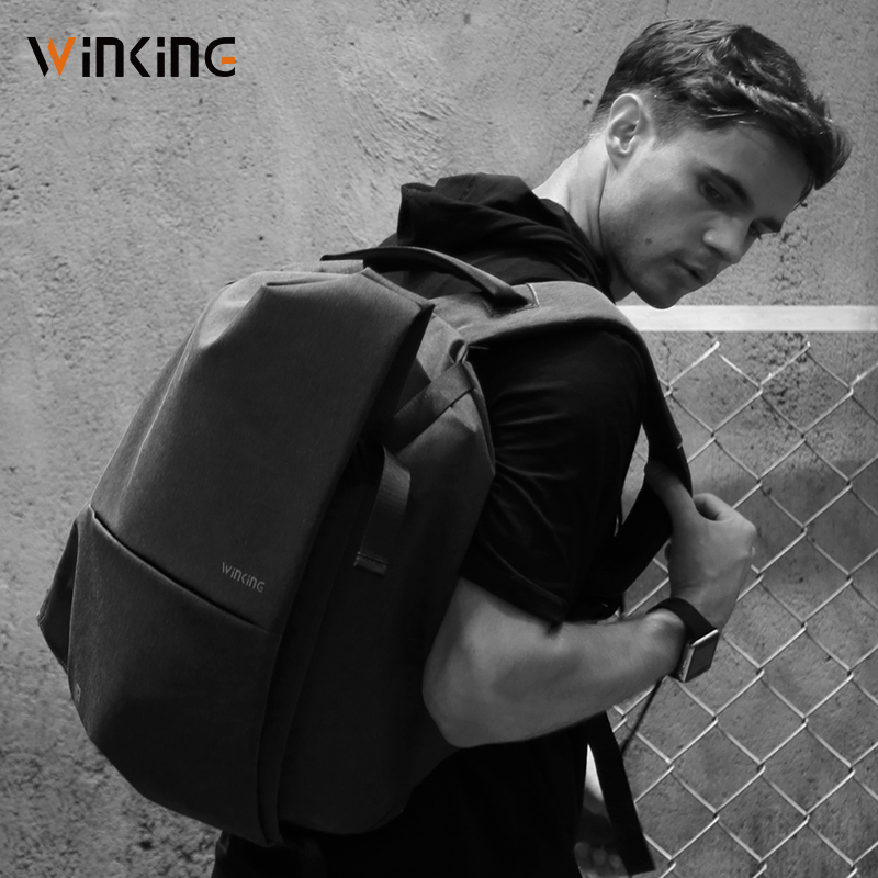 Kingsons Newest Style Fashion Multifunction Men Travelling USB Charging Backpack For Teenager And Male Waterproof Anti-theft Bag