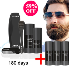 Beard Growth Kit For Men Organic Beard Oil For Facial Hair With Comb Moustache Care Set 2021 Hot Gift Man Dad Boyfriend Husband