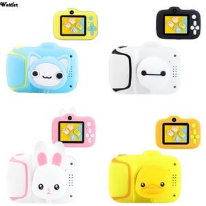 2000W Пиксельная Детская цифровая камера, детская мини-камера, мультяшная камера, игрушки для наружной фотосъемки, реквизит для детской видео...