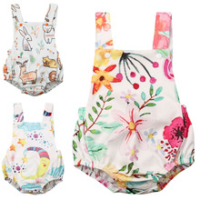 Bodysuit 2020 Summer Newborn Baby Clothes Boy Girl Kids Cotton Bodysuit Funny Cute Kawaii Outfits Infant Sleeveless Daddy gift baby girl white bodysuit dress sleeveless cute white cotton clothes outfits newborn baby kids girls infant clothing tops