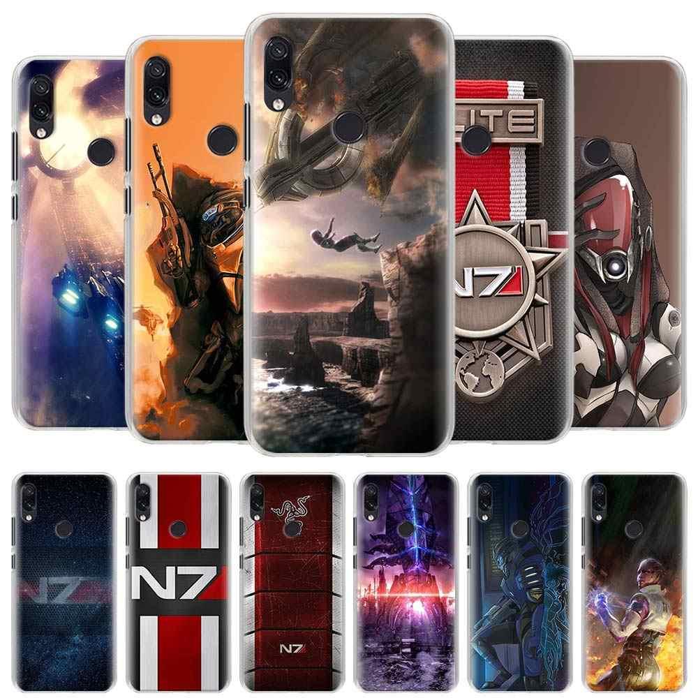 N7 Mass Effect untuk Xiaomi Redmi Note 8T 9S 5 6 7 8 Pro 9 Pro 6A 7A 8A 9A 9C K20 K30 Pro Cover