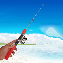 High Quality Outdoor Winter Ice Fishing Rods Fishing Reels To Choose Rod Combo Pen Pole Lures Tackle Spinning Casting Rod cheap CN(Origin) LAKE FAST HARD