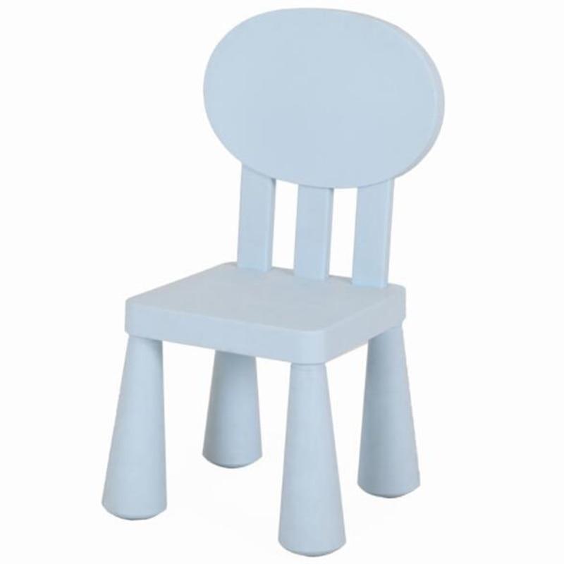 67*30*30cm Round Back-rest Chair Kindergarten Chair Children Studying Chairs