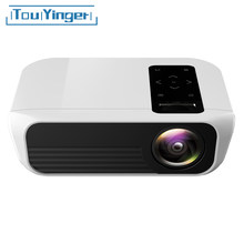 Touyinger L7 mini LED Projector with full hd 1080p native resolution logo 1920x1080 home cinema projector android wifi optional