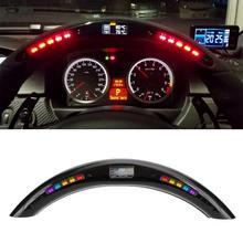 רכב אוטומטי היגוי גלגל LED תצוגה עם Intellignet מודול ערכת אוניברסלי אבזר עבור LED ביצועים הגה