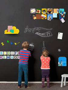 Chalk-Board Drawing-Toys Doodle-Toy Writing-Painting Self-Adhesive Black Creative Kids