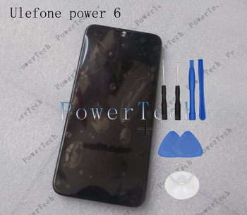 Original POWER 6 Front Panel Touch Glass Digitizer Screen with LCD display replace for ULEFONE Power 6 Cell Phone FREE SHIPPING