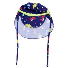 Детская Солнцезащитная спортивная шапочка с клапаном для мальчиков и девочек, УФ-шапка с клапаном