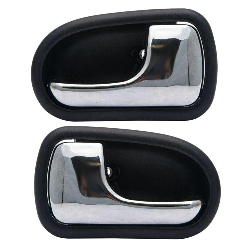 Otomobiller ve Motosikletler'ten Dış Kapı Kolları'de Mazda 323 için Astina Bj 1998 ~ 2003 sağ + sol İç kapı kolu ön veya arka title=