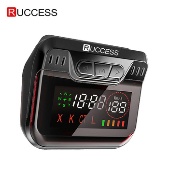 New Ruccess Police Radar Detector for Russia GPS Speed Laser band Car Detector 2 in 1 GPS Anti Radar for Car Auto 360 X LA CT L karadar 2018 led gps radar detector anti radar car radar detector strelka x k laser ct russian voice ublox 7 gps receiver