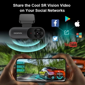 Image 2 - DDPAI Dash Cam Mola N3 1600P HD GPS Vehicle Drive Auto Video DVR 2K Android Wifi Smart Connect Car Camera Recorder 24H Parking