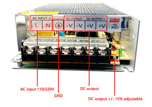 Image 5 - 18 v 2A 3A 5A 10A 20A スイッチング電源 18 v ボルト電源アダプタ alimentation ac dc 220 に 12v led ドライバ smps
