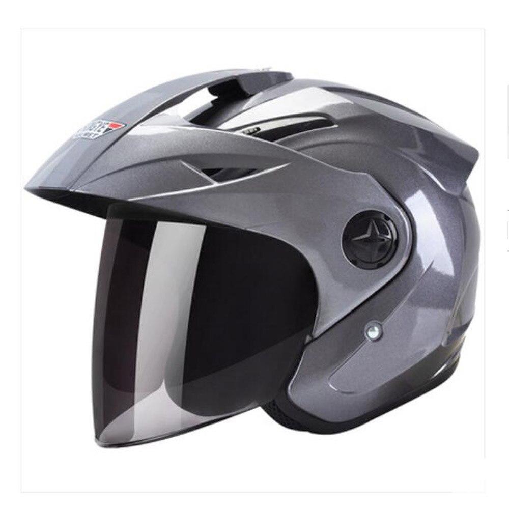 2019 мода рыцарь Велоспорт Защитная Мотоциклетный Шлем Шлемы АБС пластик линза козырек Четыре сезона универсальный