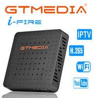 GTMEDIA iFire IPTV Box Global IPTV subscription Built in WIFI HD 1080P (H.265) 4K support Smarter IPTV M3U Skalker Android IPTV