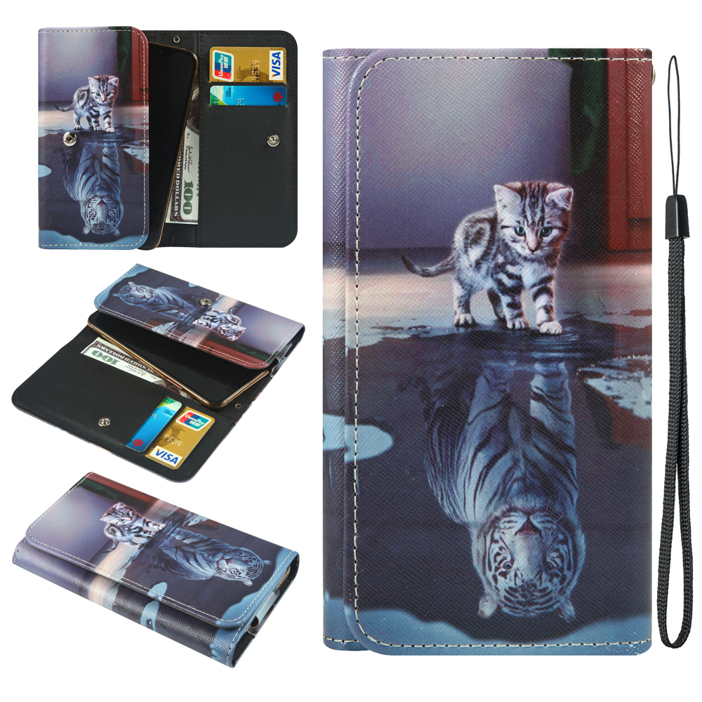 For Fly Nimbus 14 FS456 15 FS457 16 FS459 17 FS527 Power Plus 1 FS521 2 FS526 FHD FS554 XXL FS530 Wallet Cover Phone Case image
