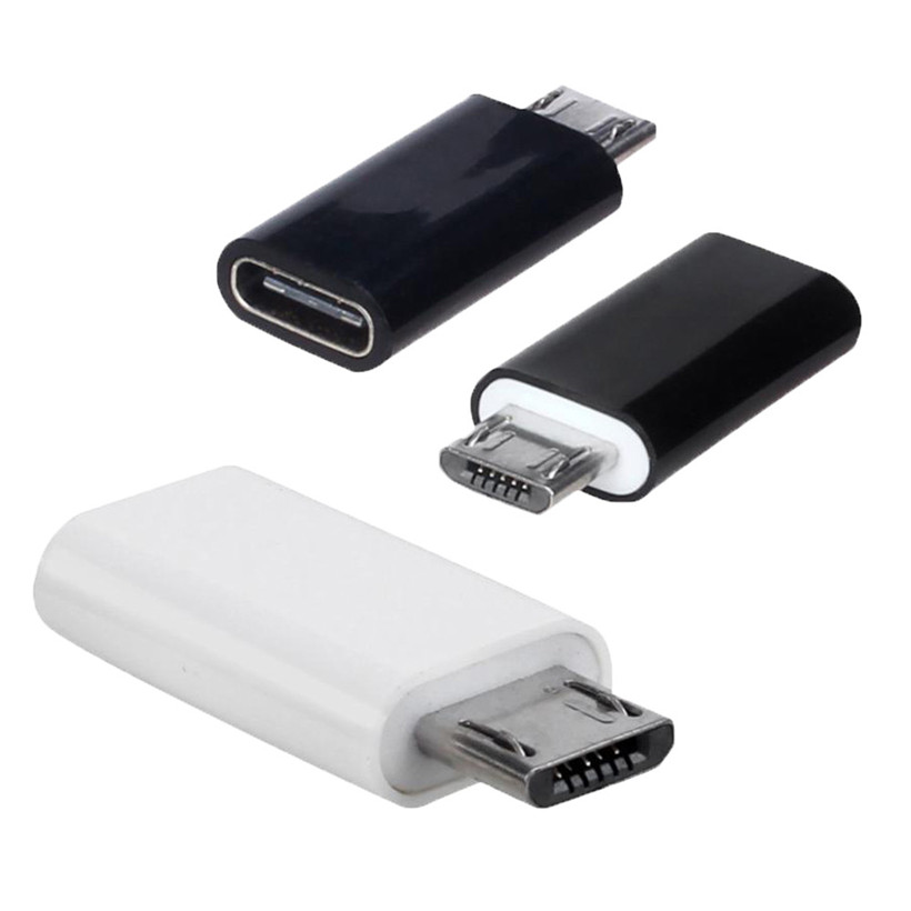 Type-C Male Connector to Micro USB 2.0 Female USB 3.1 Converter Data Adapter DROP SHIPPING