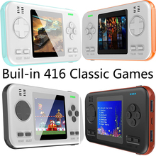 Buil-in 416 Classic Games Gaming Machine Handheld Gamepad Console with 8000mAh Power Bank Game Playing Toys for Children Adults