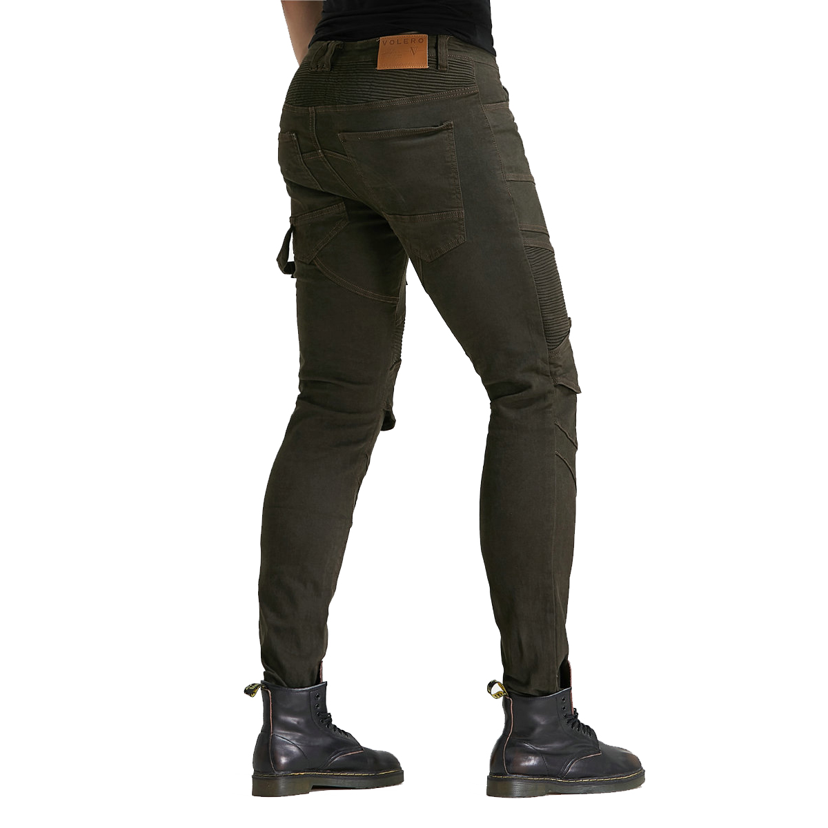 Men/'s Motorbike Motorcycle Protective Motocross Lining Armoured Padded Reinforced Protective Lining Biker Trouser Jeans Pant