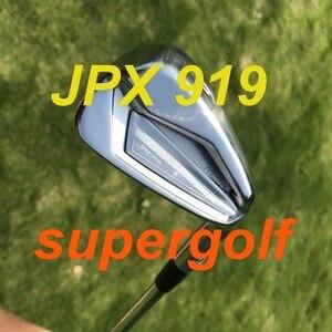 Image 1 - ¡Novedad de 2019! Juego de hierros de golf AKIA JPX 919 (4, 5, 6, 7, 8, 9 P, G) con eje de acero dinámico dorado S300, 8 uds, JPX919, palos de golf