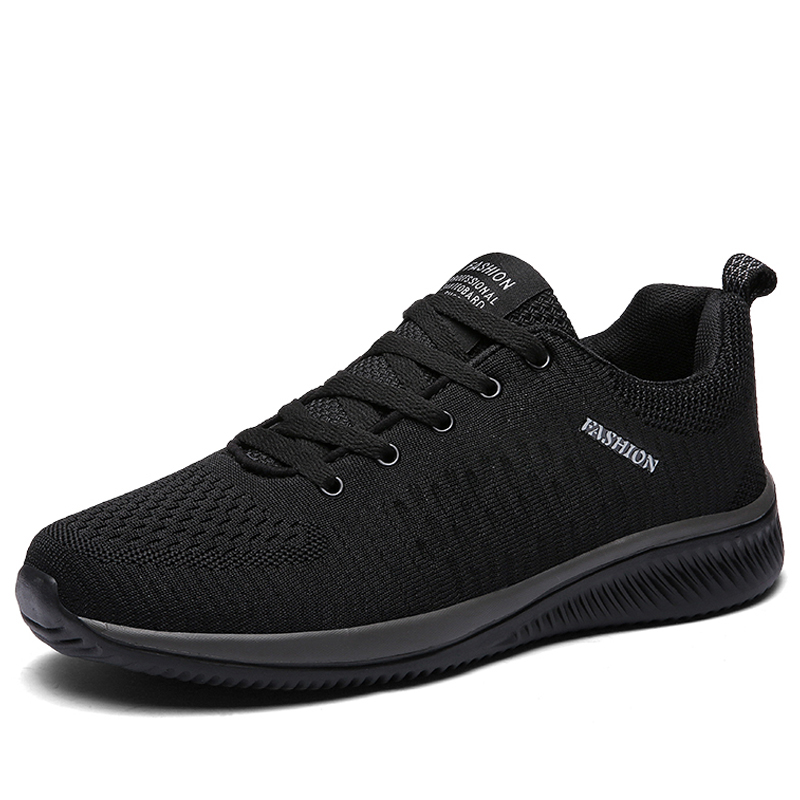 New Style Lace Up Male Sneakers Casual Breathable Mens Mesh Shoes Popular No-slip Men Shoes Tenis Masculino Zapatillas Hombre 66 6