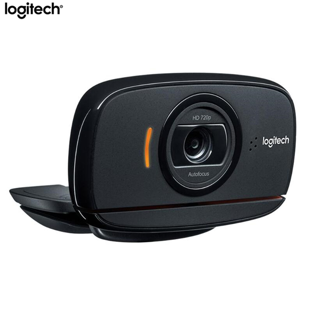 Logitech B525 HD Webcam Portable 360 Rotating 720p 8Mega Video AutoFocus Calling USB Web Camera Upgrade C525 For Computer Laptop 2