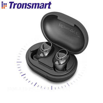 Tronsmart Onyx Neo auricular Bluetooth APTX TWS auriculares inalámbricos con Chip Qualcomm, Control de volumen, 24H tiempo de reproducción