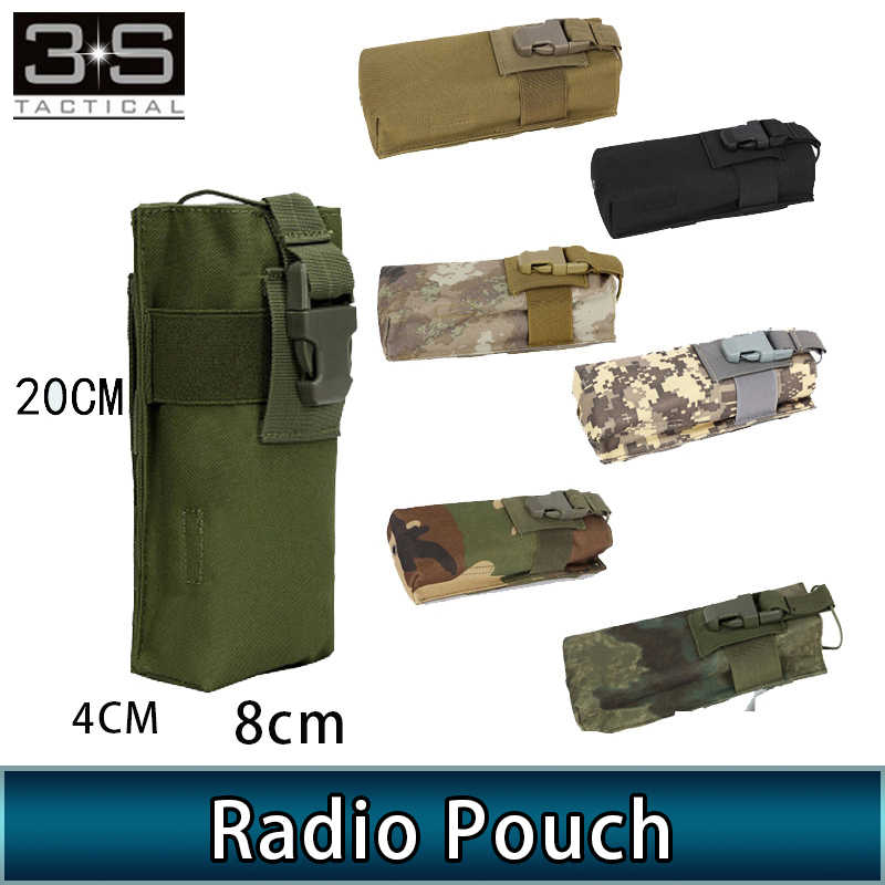Z-tactical prc152 prc 148 Radio Dummy bolsa Molle Radio titular Airsoft Walkie Talkie bolsa