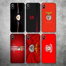 цены на Yinuoda Sport Lisboa e Pizzi FC Phone Case Picture For Fernades Silicon Soft TPU Cover For iPhoneX XR XS MAX 7 8 7plus 6 6S  в интернет-магазинах