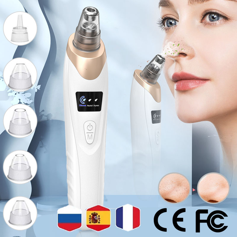 Blackhead Remover Face Deep Nose Cleaner T Zone Pore Acne Pimple Removal Vacuum Suction Facial Black head Beauty Clean Skin Too