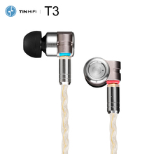 Tinhifi T3 Knowles BA+1DD Hybrid Drivers HiFi Audio In-ear E
