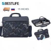 """BESTLIFE 15.6 """"Saco para Documento de Grande Capacidade dos homens Bolsa Laptop Portátil Saco do Caderno de Viagem Maleta Bussiness"""