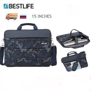 """Image 1 - BESTLIFE 15.6 """"mannen Tas voor Document Grote Capaciteit Laptop Handtas Draagbare Reizen Aktetas Bussiness Notebook Tas"""