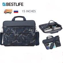 """BESTLIFE 15.6 """"حقيبة رجالية للوثيقة سعة كبيرة حقيبة يد للحاسوب المحمول المحمولة حقيبة سفر حقيبة دفتر الأعمال"""