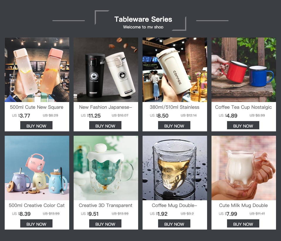 Hafc8c8333c764763bf5b050fa2f9b9c5D 500ml Cute New Square Tea Milk Fruit Water Cup for Water Bottles Drink with Rope Transparent Sport Korean Style Heat Resistant