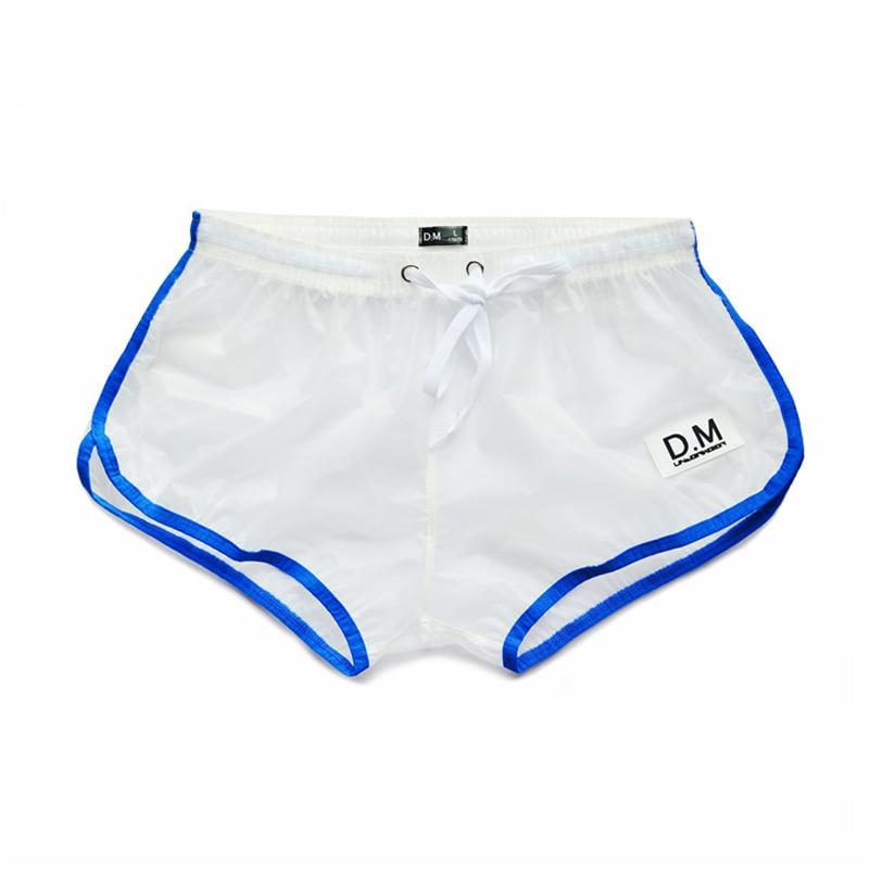 Man's Underwear Boxer Men PVC Transparent Men Underwear Man Panties Cueca Masculina Ropa Interior Hombre Men Boxer Bielizna