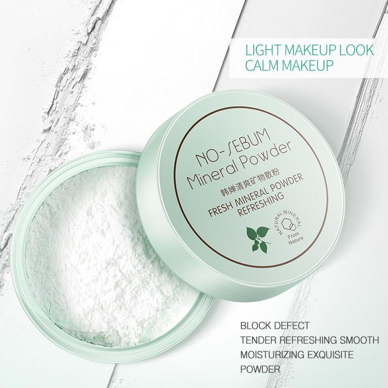 Makeup Matte Loose Powder Oil Control Soft Light Silk Face Concealer Skin Finish Powder Translucent Foundation Face Makeup TSLM1