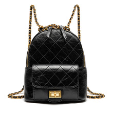 купить Mini Pu Leather Backpack Women Shoulder Bag High Quality Multi-Function Small Backpacks Female Phone Pouch Bag for Teenage Grils по цене 1841.65 рублей