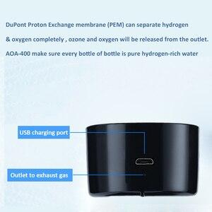 Image 3 - Max 3300ppb New SPE Hydrogen Rich Water Generator Ionizer Hydrogen Water Bottle With Drainhole