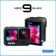 Cámara de Acción Go Pro-Vídeo 5K Ultra HD, transmisión en vivo 1080p, casco impermeable subacuático Cámara deportiva GoPro Hero 9 negro