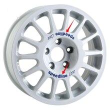 Auto Styling En Decals Auto Buitenkant Auto 15Inch 16Inch Wielnaaf Velgen Versieren Stickers Voor Speedline Corse Type