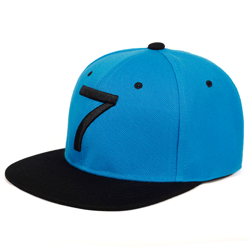 2019 New Fashion CR7 Embroidery Baseball Cap 100%cotton Fashion Flat Hat Hip Hop Street Dance Hats Sports Caps Gorres